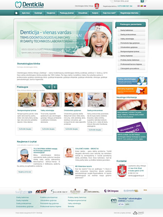 web svetainių kūrimas
