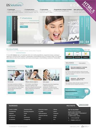 Interneto svetainių ir tinklapių kūrimas
